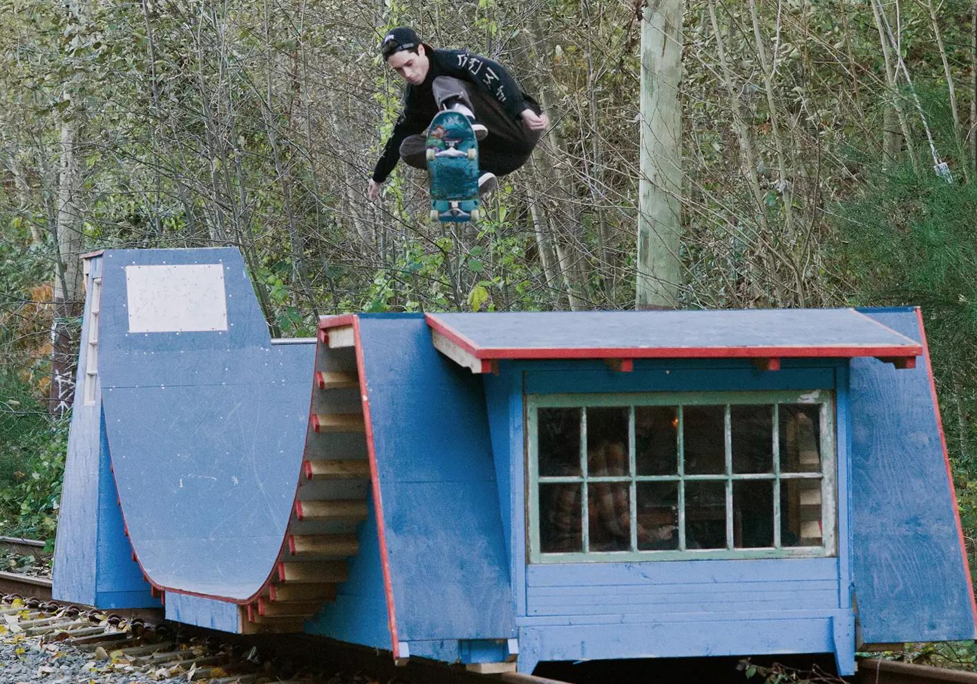 portable skateboard ramps double as train car boat make