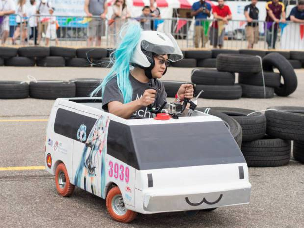 What Do Jurrassic Park, Twisted Metal, and Waffles Have in Common? Power Wheels Racing