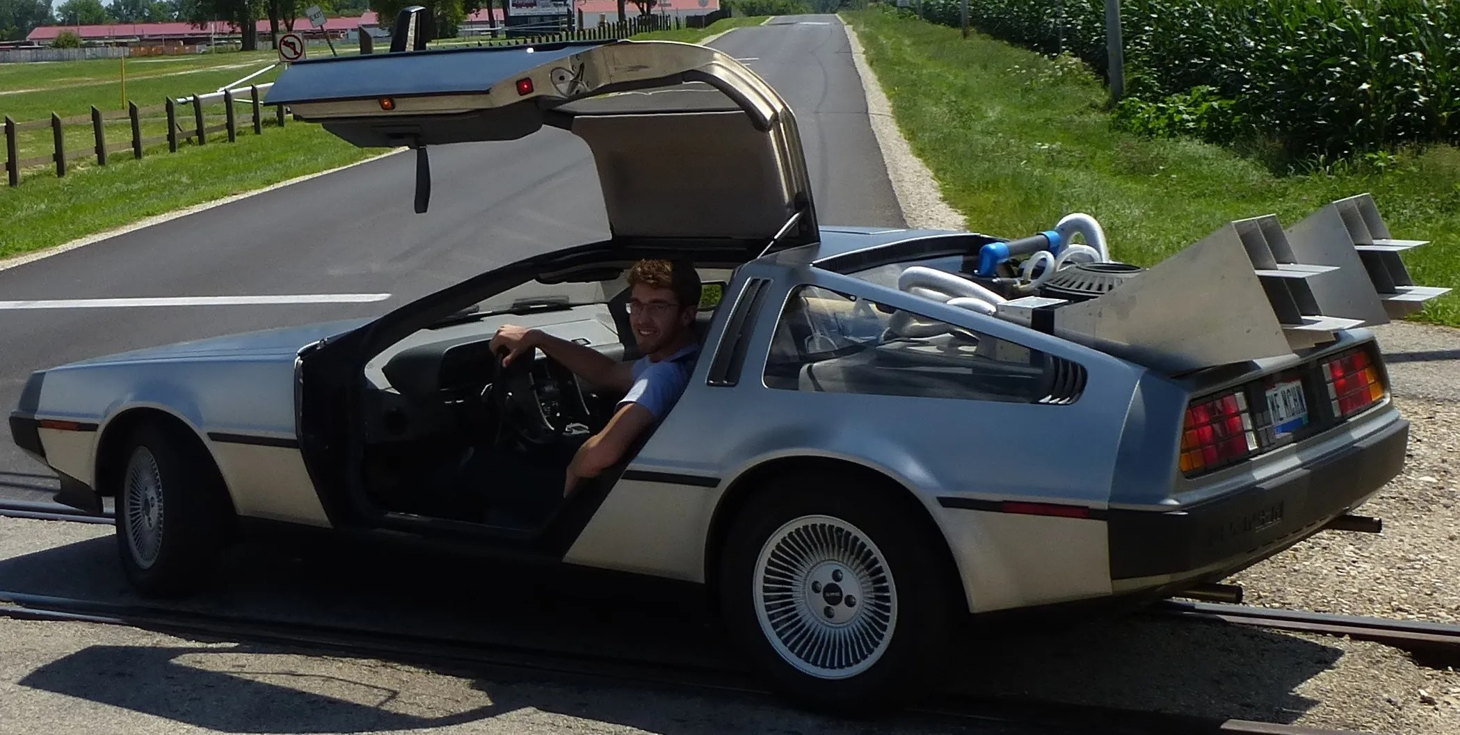 Realistic <em>Back to the Future</em> DeLorean Will Transport You Directly to 2015