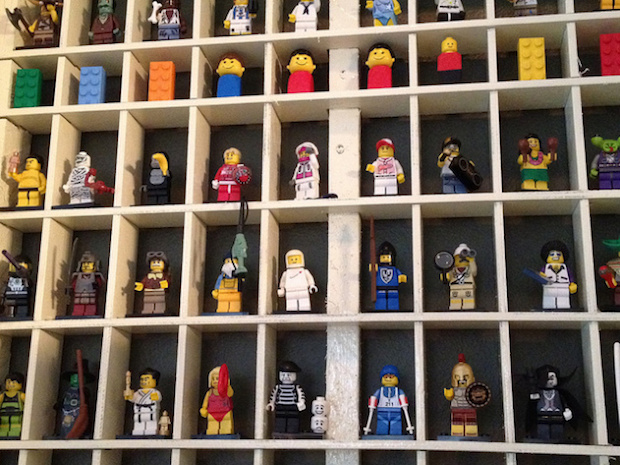 Flashback: LEGO Display Case