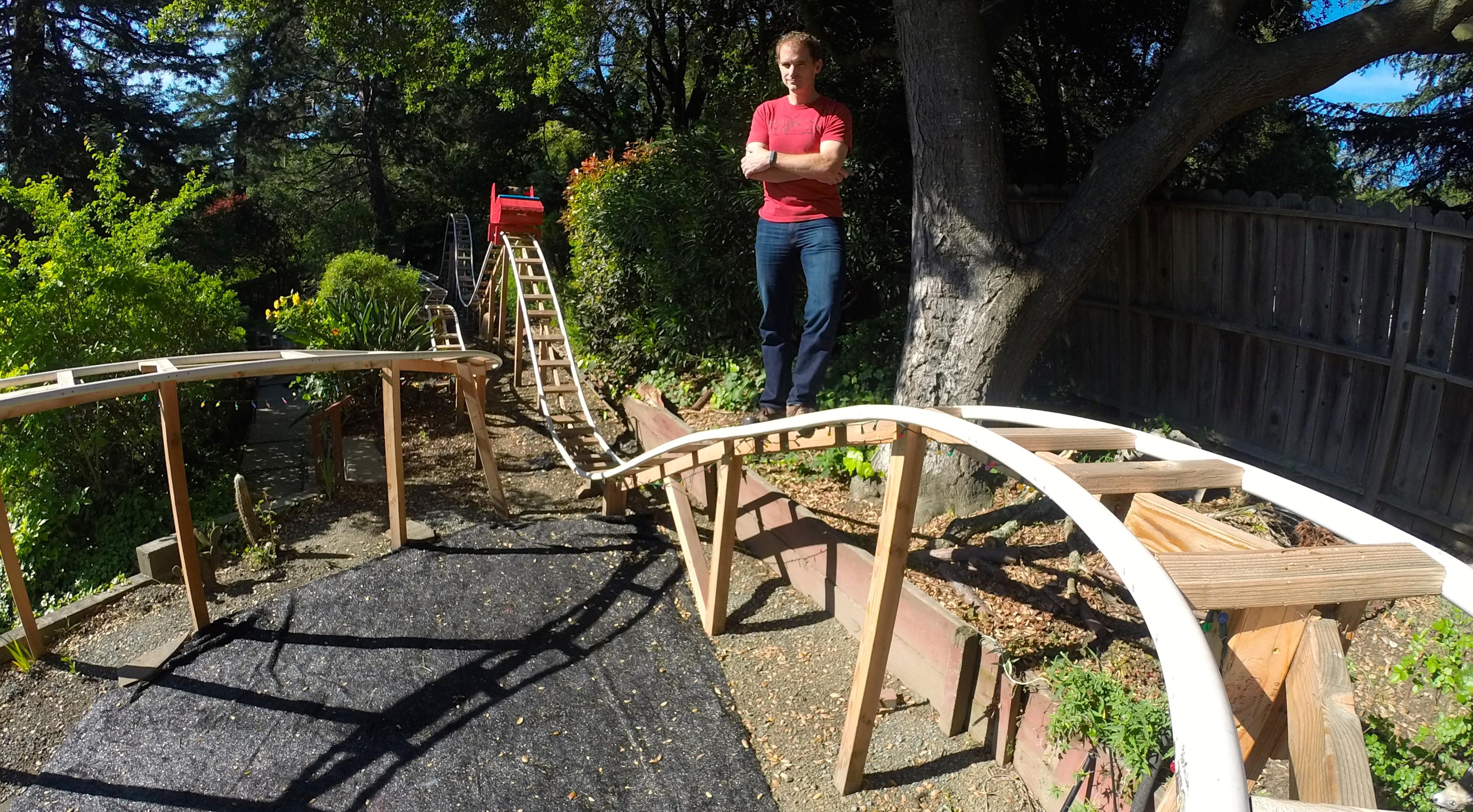 Build a Backyard Roller Coaster - Fun & Games | Make: