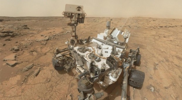 NASA's Curiosity rover was sent to Mars to analyze everything from soil samples to background radiation as well as taking a handful of 'selfies'.