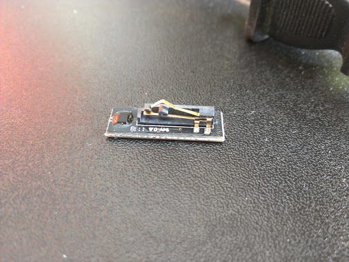The DRM Chip From A Stratasys Print Cartridge
