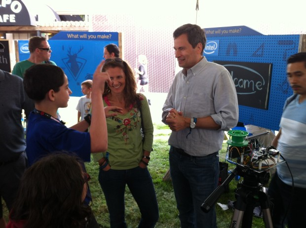 Schuyler Leger discusses magic and microcontrollers with David Pogue.