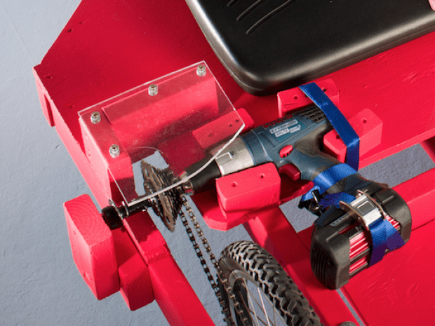 Build a Cordless Drill Powered Go-Kart