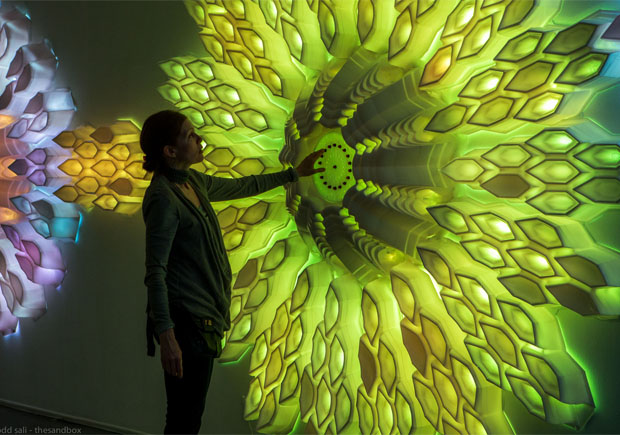 Interactive 40-Foot Sculpture Inspired by a Barnacle