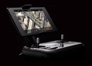 The Solo's controller includes sophisticated tools for automating aerial video shoots.