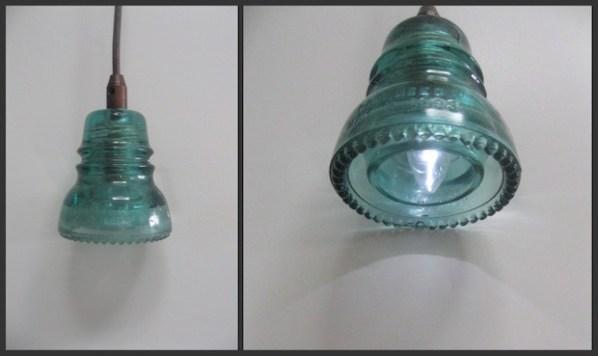 Light It Up: Make a Glass Insulator Pendant Lamp