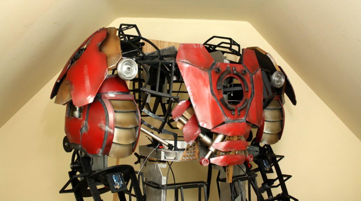 Superfan Builds Life-Size Iron Man Hulkbuster Suit | Make: