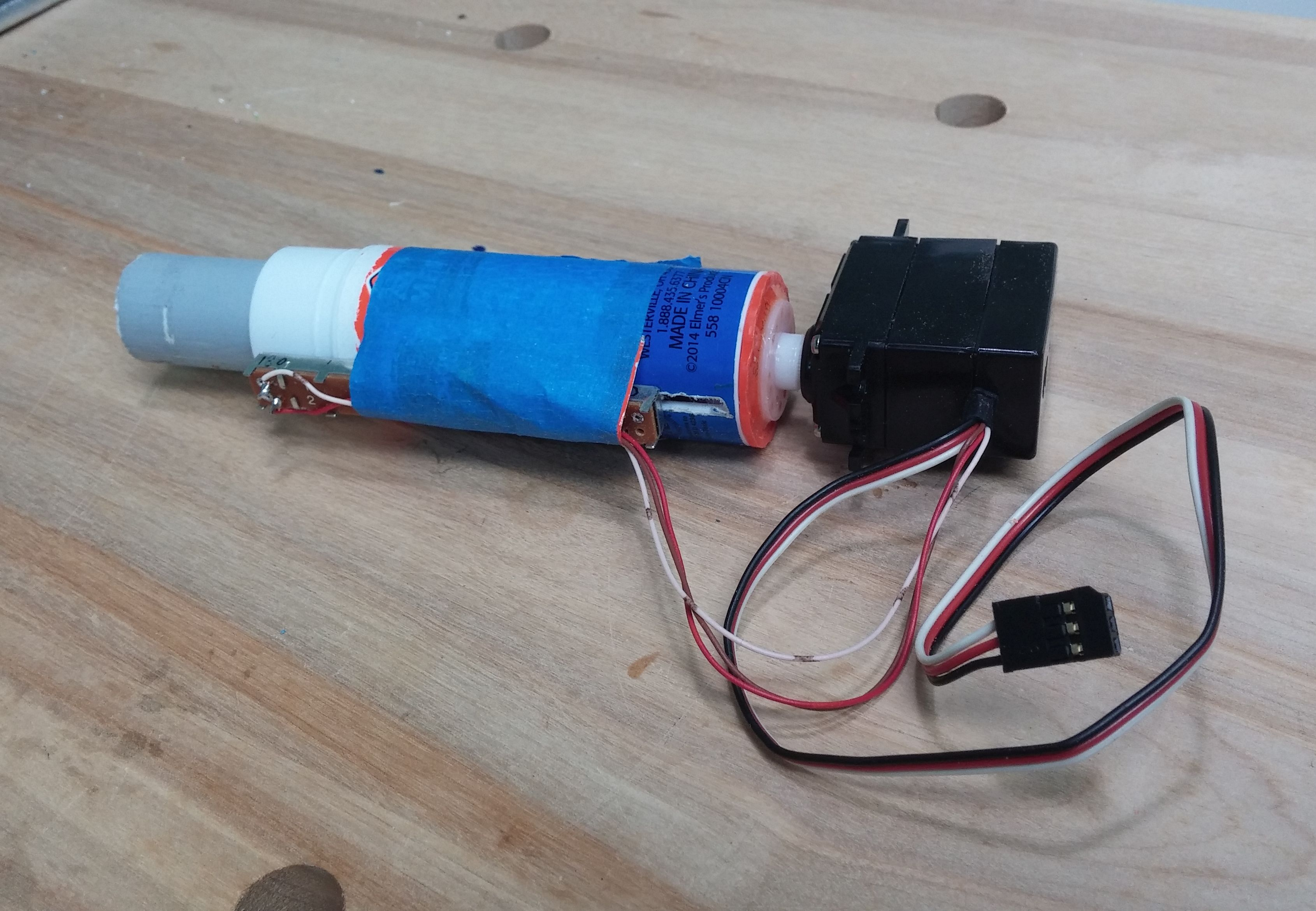 Build This Inexpensive Linear Actuator From A Glue Stick
