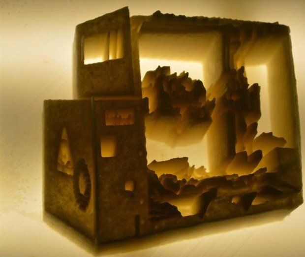 Incredible Lithophanes Wow Crowds At 3D Print Week