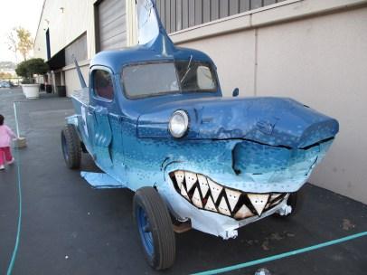 The Shark Car cruises for human chum at the 2008 MFBA.