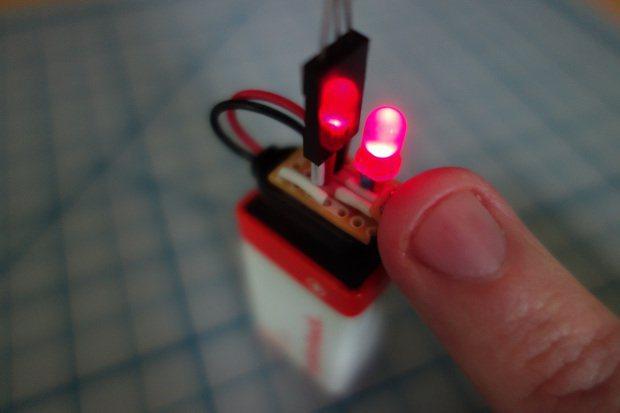 transistor-battery