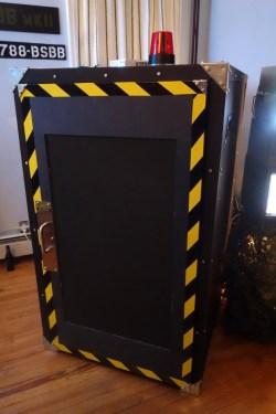 The B.S.B.B. MkII cockpit door closed.