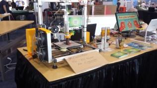 Choco3Drag chocolate 3D-printer.