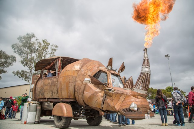 Fire, Steam, and Trout: The Best Custom Rides at Maker Faire