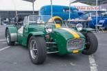 The M.G. Locost, a replica of a 1963 Lotus Super 7 that's street legal and made from scratch.