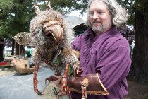 Puppeteer and friend in the Steampunk zone.