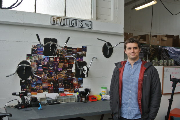 Revolights co-founder and CEO, Kent Frankovich