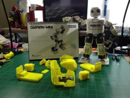 Robotis DARWIN-MINI by I-Bioloid