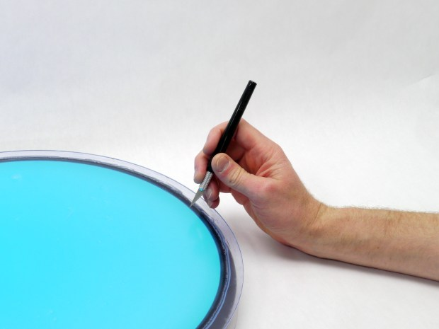 Rheoscopic Disc Coffee Table