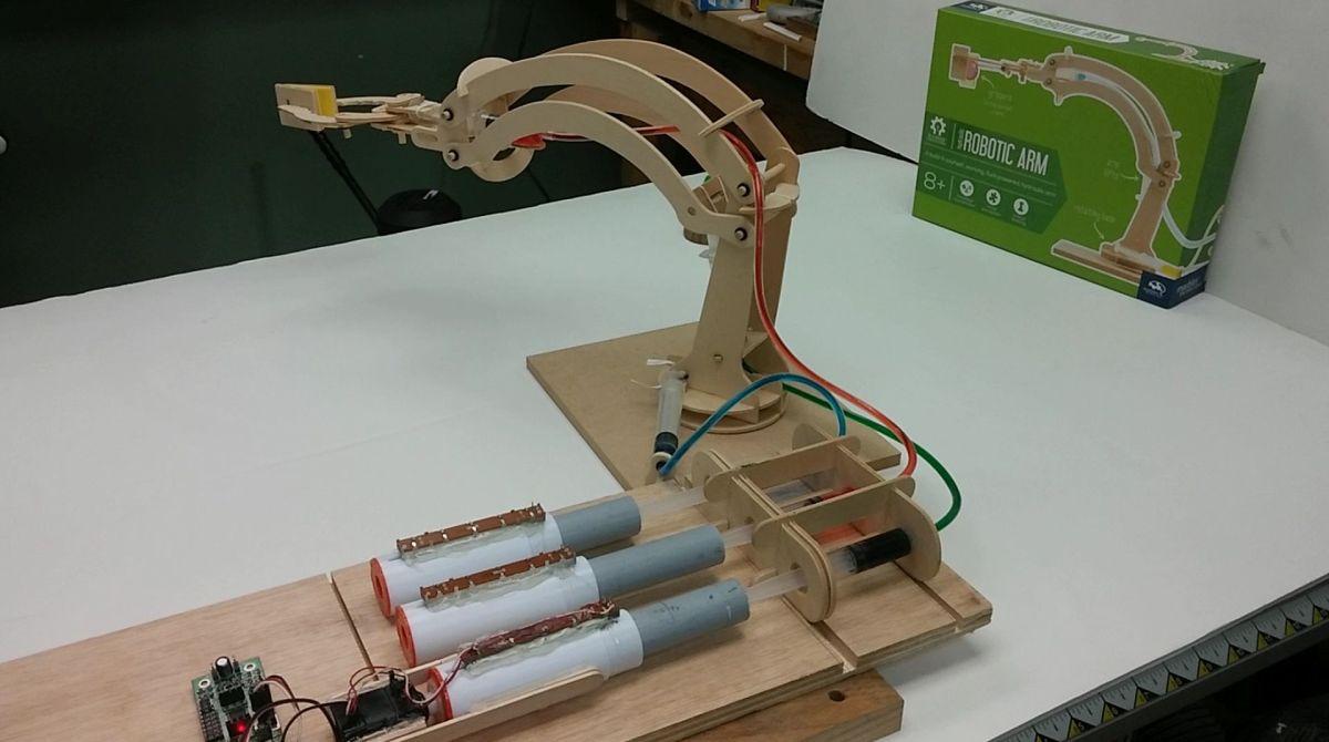 skill builder hydraulics for robots make