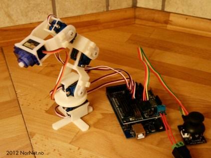 Micro Robot arm (9g Micro Servo) see video by bentommye