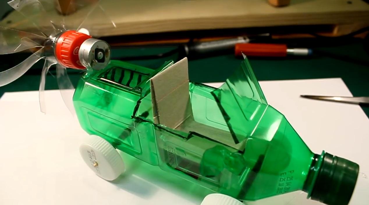 Build an Impressive Little Air-Powered Toy Car