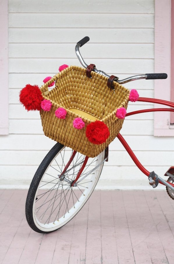 Springtime Makes: DIY Upcycled Bike Basket