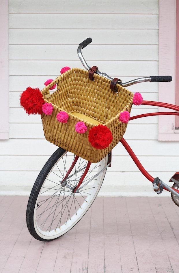 Springtime Makes: DIY Upcycled Bike Basket
