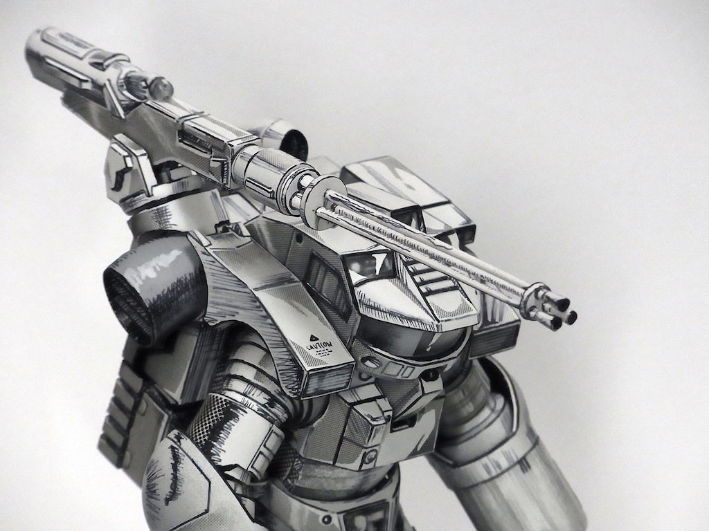 This Isn't a Drawing, This is a Physical Model