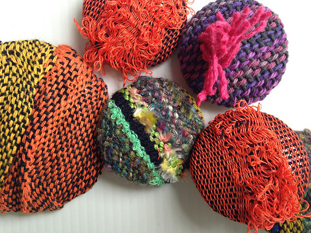 Fabric Stash Buster: Wild Woven Buttons