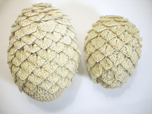 Crochet This Game of Thrones Dragon Egg Pattern