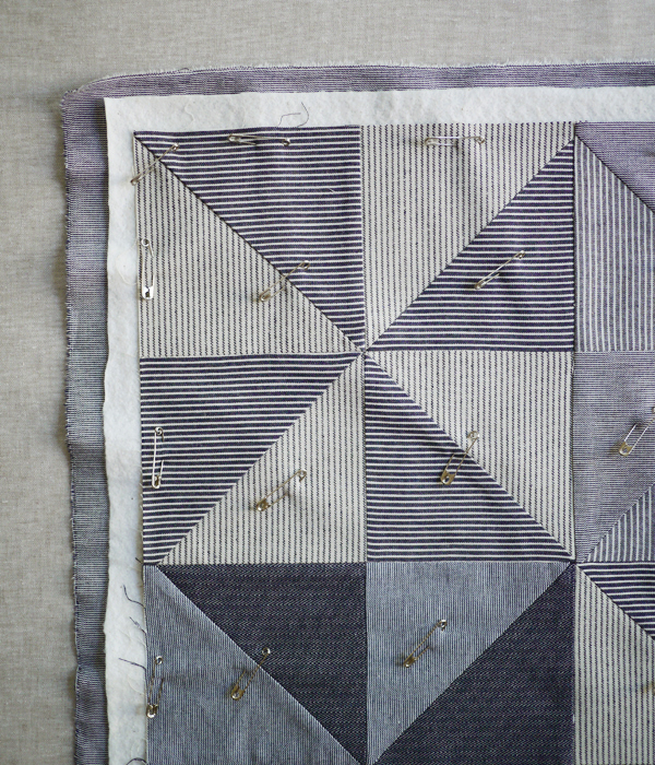 Quilting Basics: Pin Basting