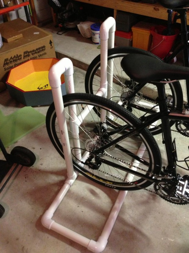 PVC Bike Rack