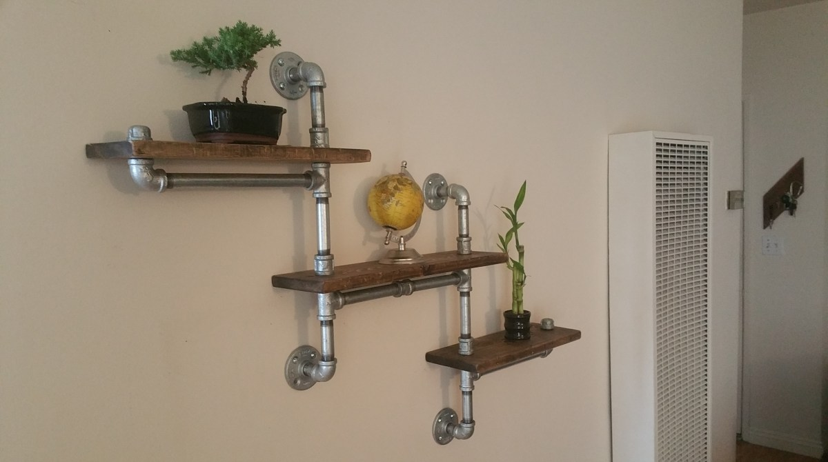 Cool Shelving these 6 pipe shelf ideas are plumb cool