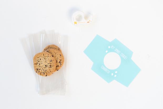 Grad Craft: DIY Smart Cookie Graduation Party Favors