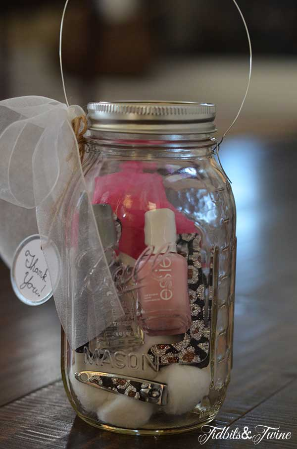 Crafty Beauty: DIY Mason Jar Manicure Kit (and Lantern)