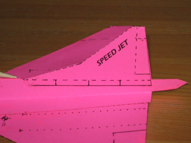 Fold and Fly a Speed Jet Paper Glider