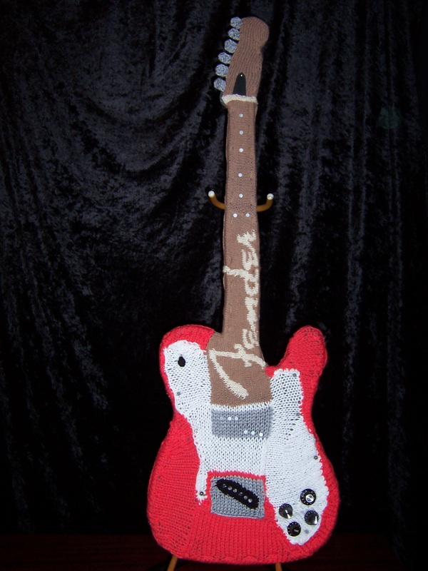 Knitted Fender Guitar