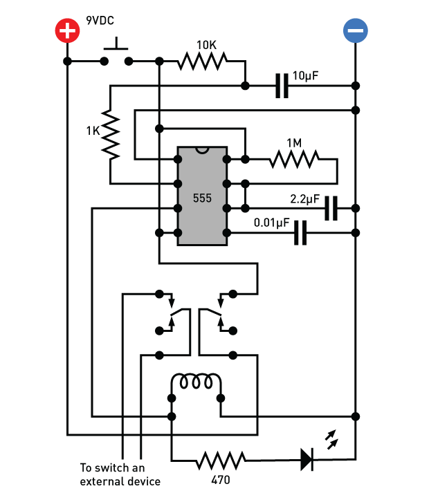 build a delay timer that doesn't suck (energy) make 8 Pin Timer Relay Diagram figure a [converted] newest 8 pin timer relay diagram