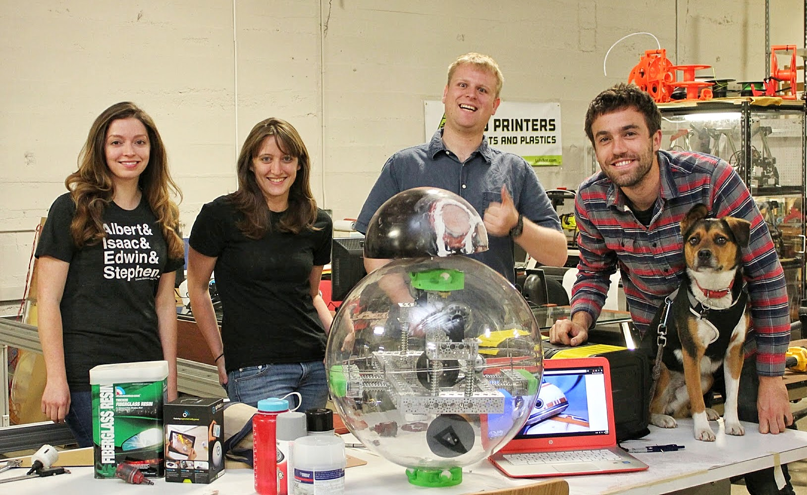 Team Builds Open Source BB-8 Robot