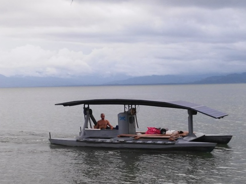 When the Family Car Is a Solar Powered Boat
