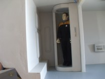 Mr. Data stepped in just to make sure it could accommodate Starfleet personnel.