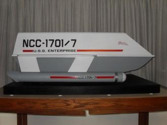 Photos of the finished Galileo Shuttlecraft.