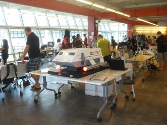 The following set of pictures are from the 2015 Honolulu Mini Maker Faire at which I displayed my Galileo Shuttle.