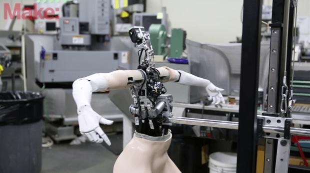 dancing robot Mark Setrakian