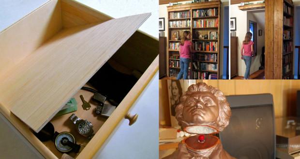 Secret doors main image & 20 Secret Doors and Clever Hiding Places | Make: