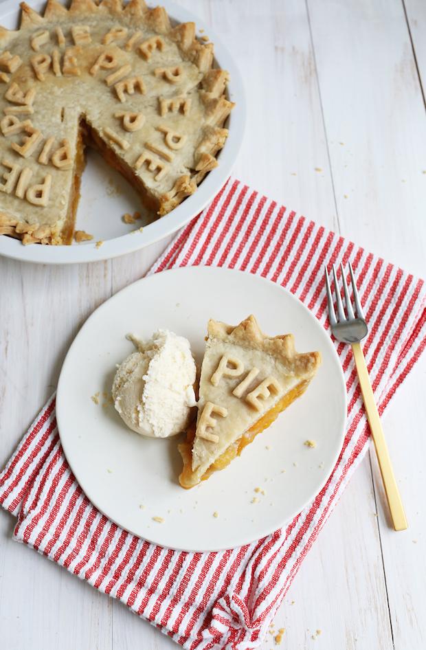 Summer Eats: Peach Pie Recipe