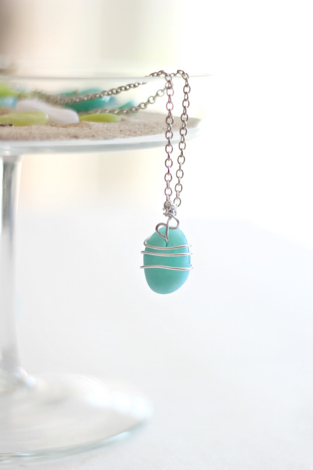 Faux Sea Glass for Jewelry, Beading, or Home Decor